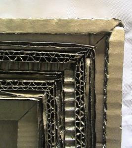 cadre doré -détail