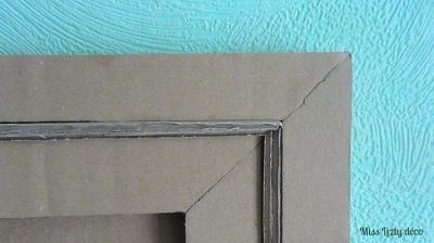 cadre planisphère, détail
