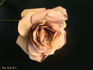 rose marron